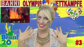 2016 RIO - Olympic Competition Wettkampf #3 - Exklusives Original Banni Sport Fan Style Make-up
