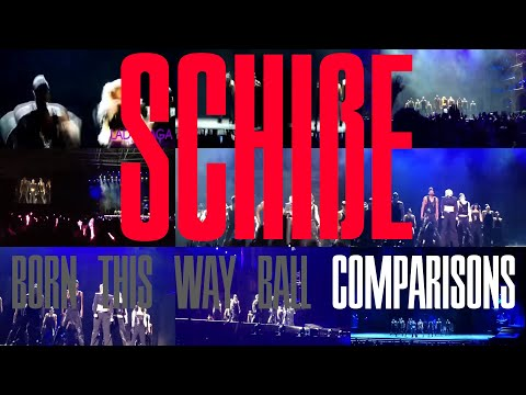 Lady Gaga - Scheiße [Born This Way Ball comparisons] [Asia Edition]