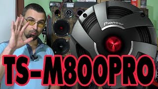 Эстрадная акустика Pioneer TS M800PRO, распаковка, обзор, прослушивание, сравнение, отзыв spl