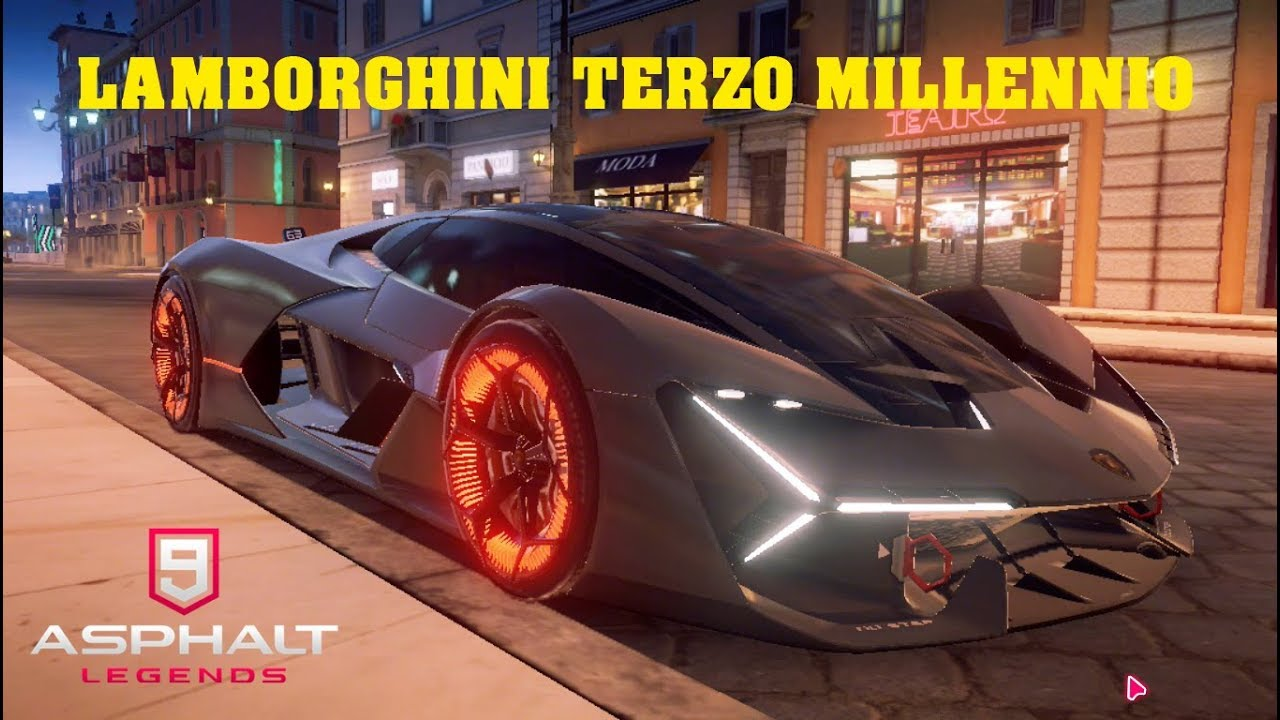 Asphalt 9 Lamborghini Terzo Millennio Free Try Youtube