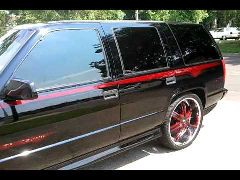2000 Chevy Tahoe Limited On 24s 26s Custom