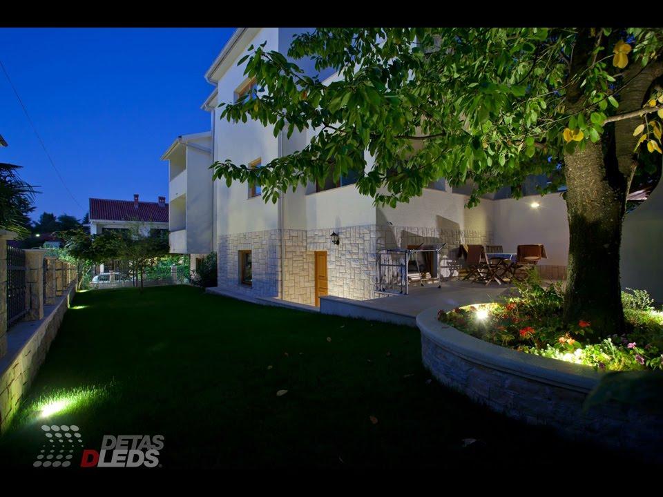 Illuminazione led per esterni: faretti e lampade da giardino 2014