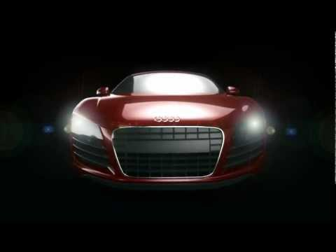 Quick Audi R8 Animation GPU Rendering GTX 690