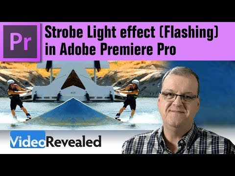Using the Strobe Light Effect (Flashing) in Adobe Premiere Pro