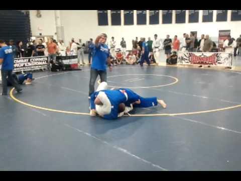 Semifinal match- 205# GI 2011 Combat Corner Grappling Championship Vol 8