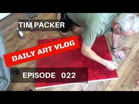 Starting a New Painting - Daily Art Vlog - Episode 022