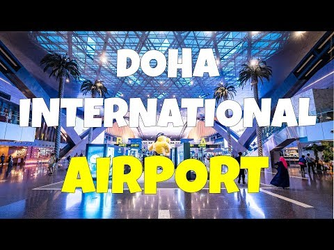 New Hamad International Airport Doha Qatar [Departure]