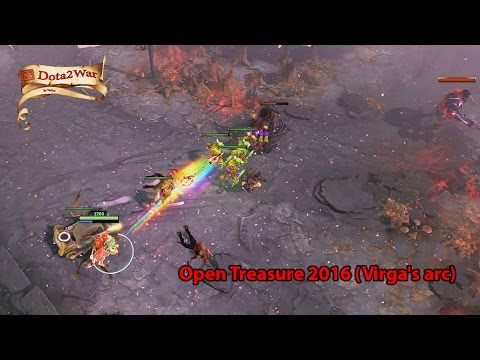 Dota 2 War - Open Treasure 2016 (Virga's arc)