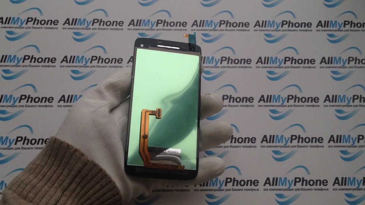 Дисплейный модуль для мобильного телефона Lenovo S960 Black - YouTube