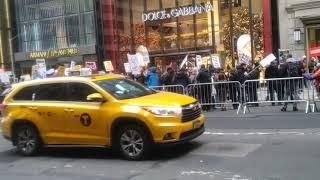 NEW YORK CITY TRUMP DEMONSTRATION
