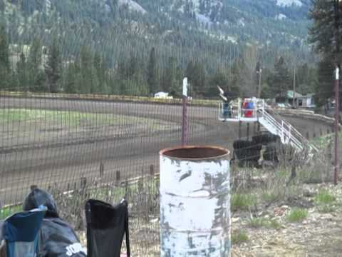Eagle Track Raceway Chris Ochs Time In May 10th 2014