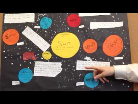 solar system information board 5 youtube
