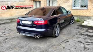 Audi A6 3.0 TFSI полная выпускная система AGP motorsport