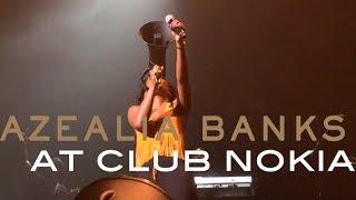 Azealia Banks - Yung Rapunxel @ Club Nokia
