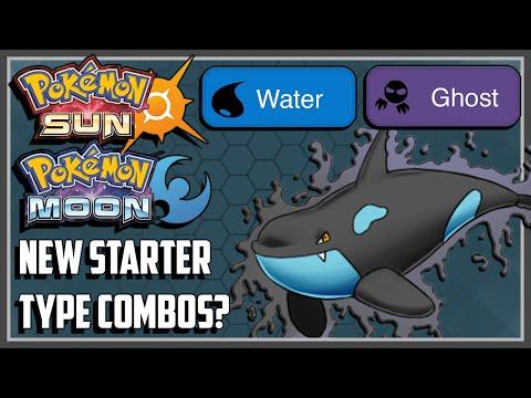 Pokemon Sun And Moon NEW Starter Types! [Speculation]