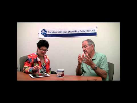 Tuesdays with Liz: Disability Policy for All Former Senator Tom Harkin Interview