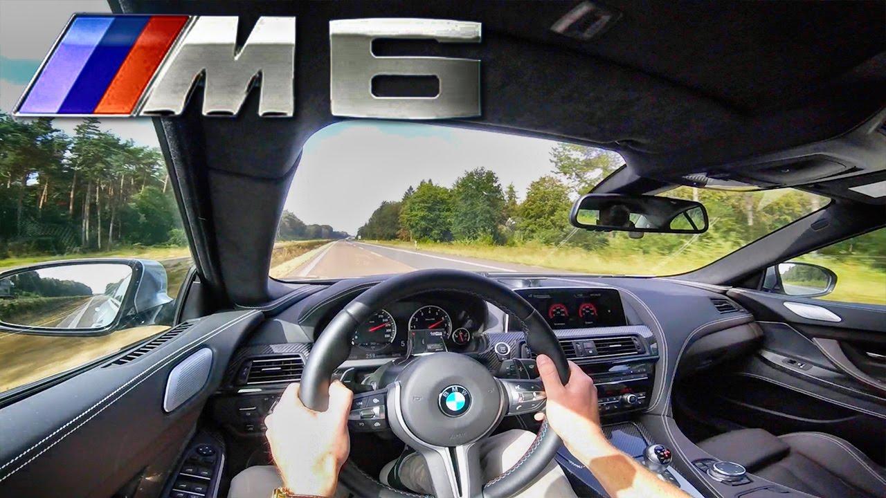 Savannah Bmw M6 >> 2017 BMW M6 600 HP TOP SPEED AutoBahn Drive & Interior Sound | FunnyCat.TV