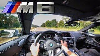 2017 BMW M6 600 HP TOP SPEED AutoBahn Drive & Interior Sound