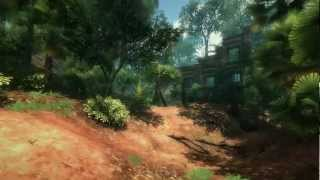 Tropical jungle in Unity 3d [Tropical Nature Pack]