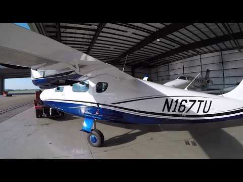 Sam gets his first ME time..Tecnam P2006T