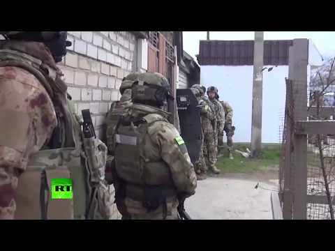 RAW: FSB bust ISIS cell in Dagestan, 5 recruiters detained