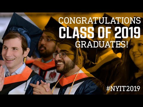 NYIT 2019 Commencement Ceremony