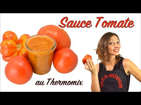 SAUCE TOMATE, recette Thermomix