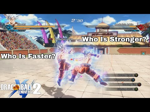 Ultra Instinct Goku Tournament! The Fastest Fights Ever! Dragon Ball Xenoverse 2