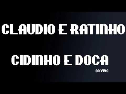 MCs CLAUDIO E RATINHO e MC CIDINHO E DOCA ( AO VIVO ) EXCLUSIVIDADE