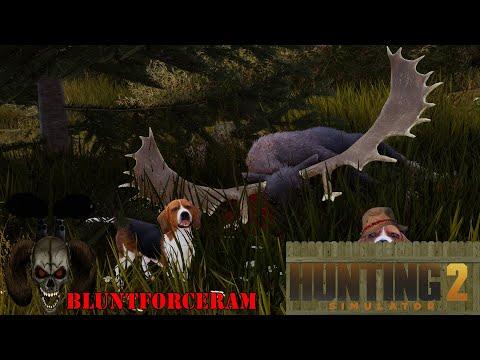 Monster Moosh! Moose Hunt! Hunting Simulator 2 4K