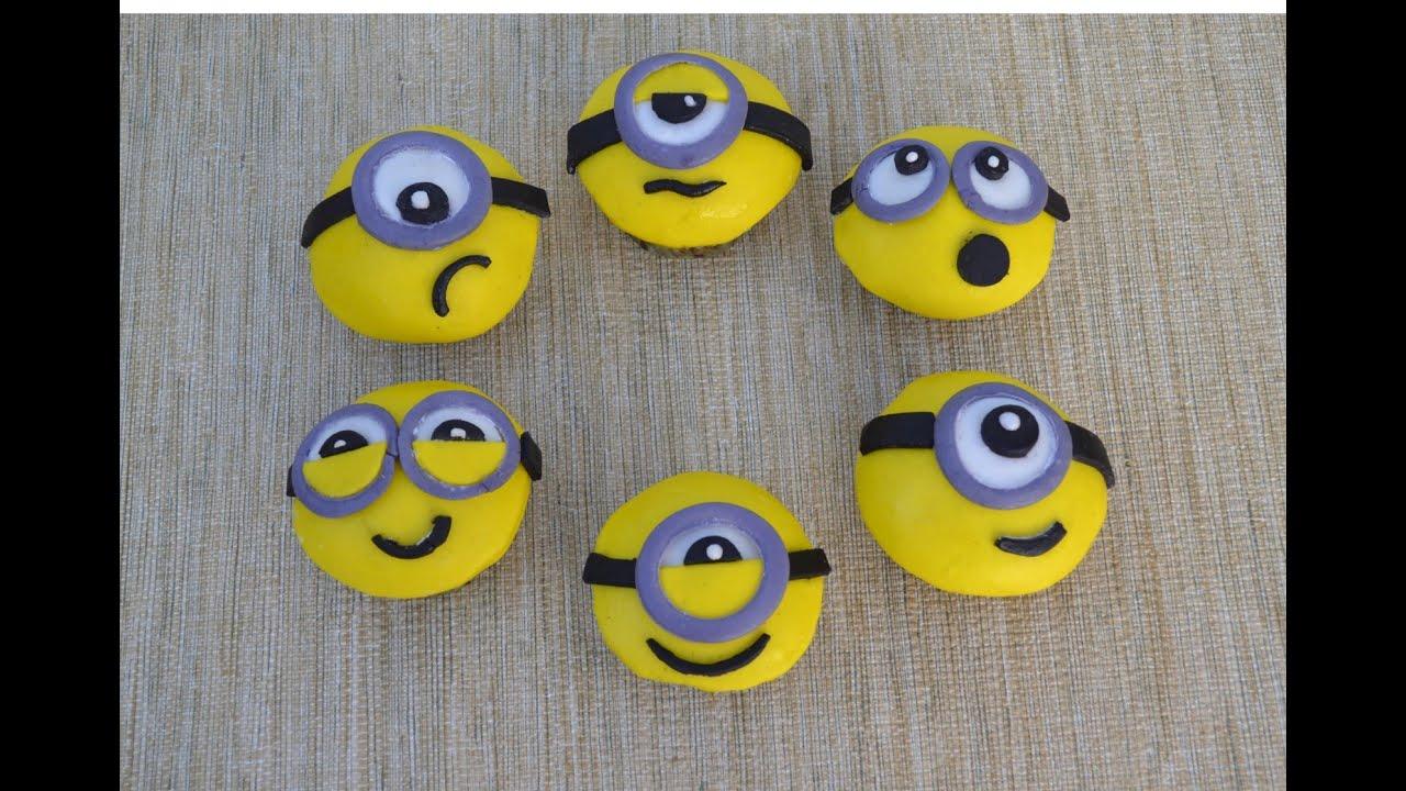 Cupcakes De Minions Despicable Me Cupcakes Mi