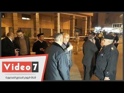 مدير أمن بورسعيد يتفقد الخدمات الأمنية حول الكنائس