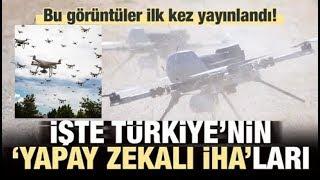 Türkiye'nin Yapay Zeka Destekli Sürü İHA'ları