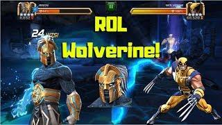 Ægon vs ROL Wolverine! 1000 Combo! CCP - Marvel Contest of Champions