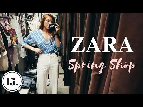 COME SHOPPING TO ZARA WITH ME! - Vlog 15
