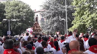 Pamplona celebra el día grande de las fiestas de San Fermín