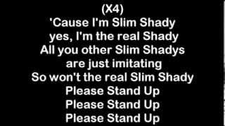 Eminem - The Real Slim Shady [HQ Lyrics]