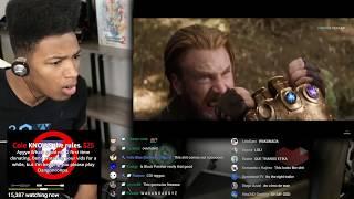 Etika reacts to Marvel infinity war trailer