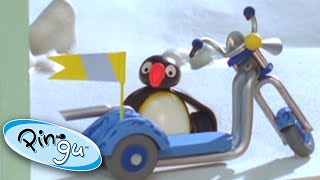 Pingu and the New Scooter!   Pingu Official   1 Hour   Cartoons for Kids