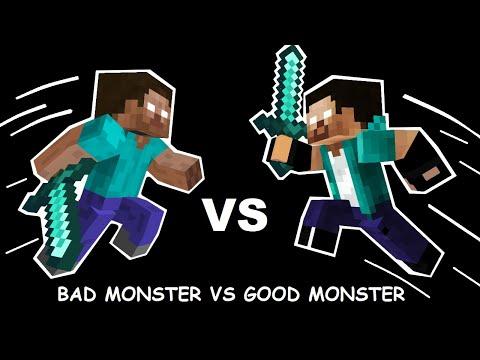 Monster School : Good Monster Vs Bad Monster - Sad Animation