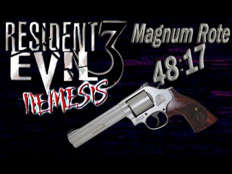 Resident Evil 3 Nemesis - Magnum Route ( Taiwan 48:17min )