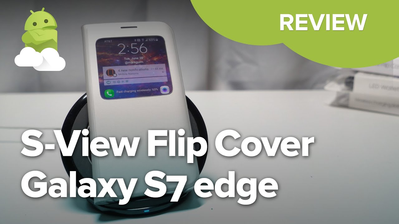 sneakers for cheap 5006b cb650 Samsung S-View Flip Cover review for Galaxy S7 edge | Android Central