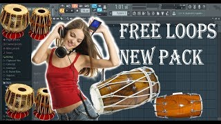 Dholak  tabla and tumbi loops -samples pack free download
