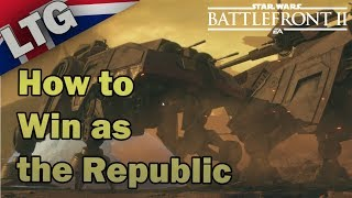 How to Win as the Republic on Geonosis  : Star Wars Battlefront 2