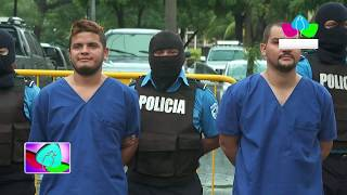 Policía Nacional captura a cabecillas de grupos terroristas en Matagalpa