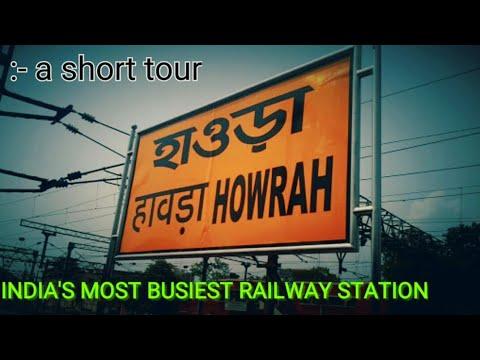 Howrah JN India's BUSIEST Railway Station || west bengal,Kolkata thumbnail