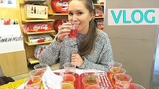 M&M's World и Coca-Cola Store. Пробуем 16 напитков от Кока-Колы из разных стран.