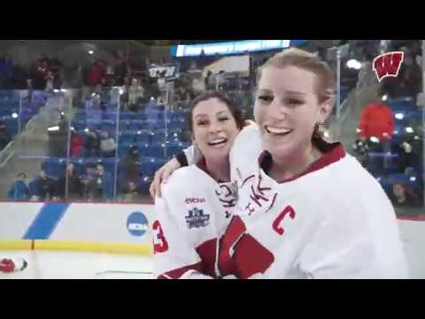 Wisconsin Badgers - FULL BROADCAST: Wisconsin Hockey Wins National Championship
