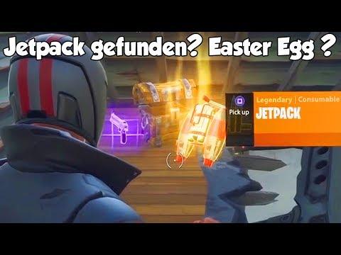 So bekommt ihr das JETPACK (Easter Egg) in Fortnite? Fake oder echt?