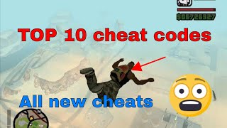 Top 10 Cheats - GTA San Andreas PC। Best cheat codes for gta san andreas by General Pony
